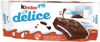 Kinder delice cacao t10 pack de 10 pieces - Product - fr