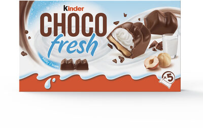 Kinder chocofresh t5 pack de 5 etuis - Product - fr