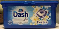 Dash 2 en 1 Touche de fraîcheur Perles Fleurs de Lotus & Lys - Product