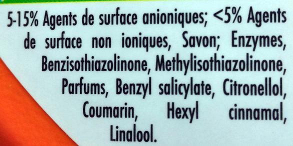 Simply Propre & Frais Fraîcheur Intense - Ingredients - fr