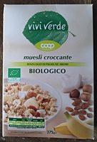 muesli croccante biologico - Product - fi