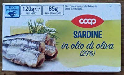 sardine in olio di oliva - Product