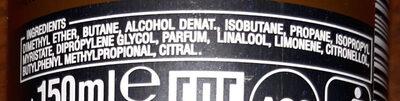 FIGARO PARFUM DEODORANT - Ingredients
