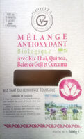 Mélange antioxydant avec riz Thaï, quinoa, baies de Goji et Curcuma - Product - fr