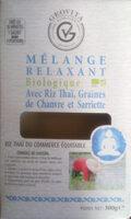 Mélange relaxant avec riz Thaï, graines de chanvre et sarriette - Product - fr