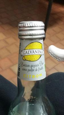 boissons  gazeuse citron - Product - fr