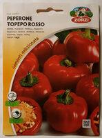 Peperone Topepo Rosso - Poivron - Produit - fr