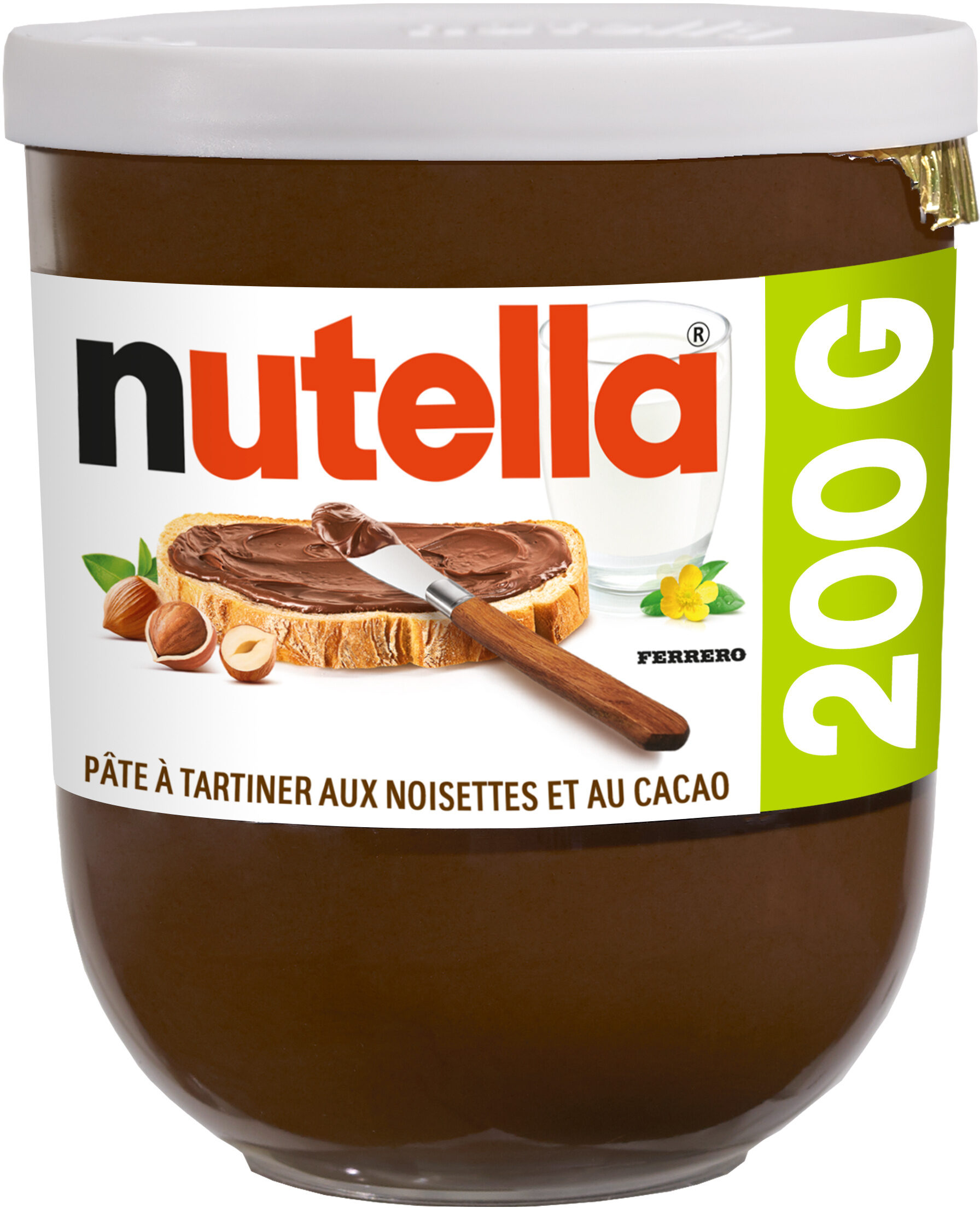 Nutella t200 pot de - Produit - fr