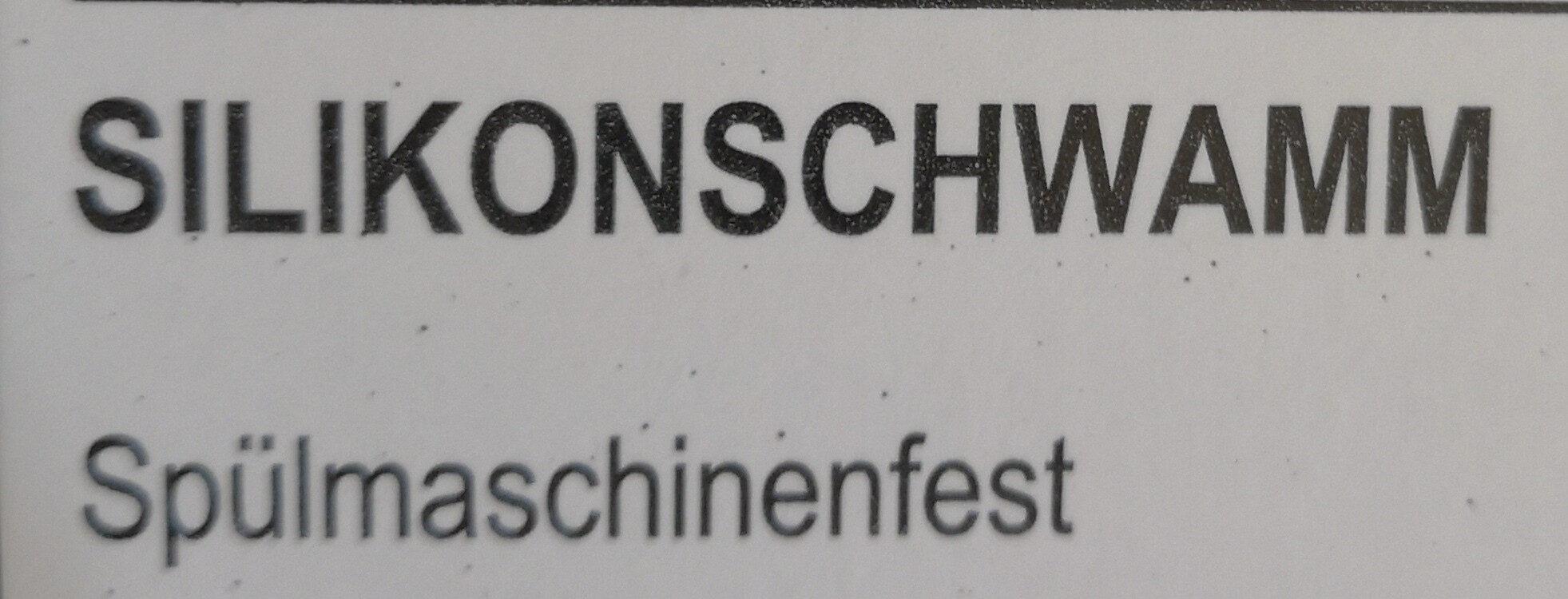 Silikonschwamm - Ingredients - de