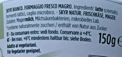 skyr - Ingredients