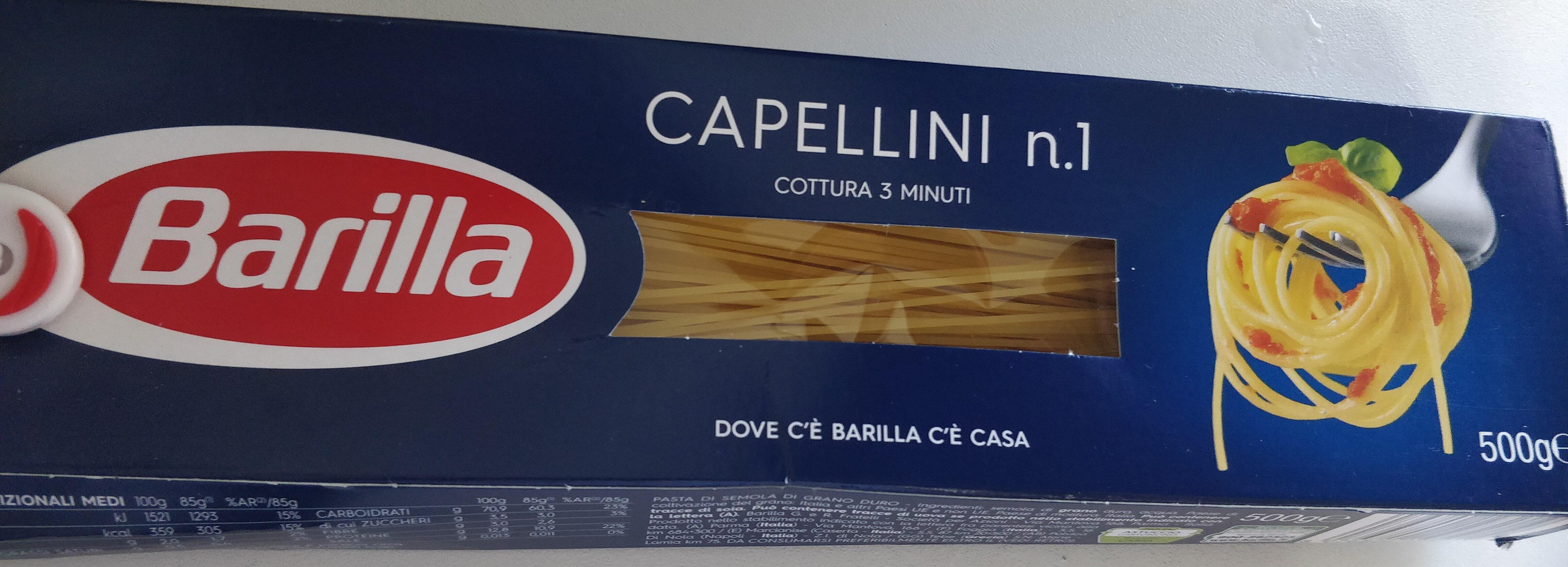 spaghetti capellini n. 1 - Product
