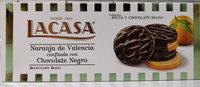 Naranja de Valencia confitada con Chocolate Negro - Product - es
