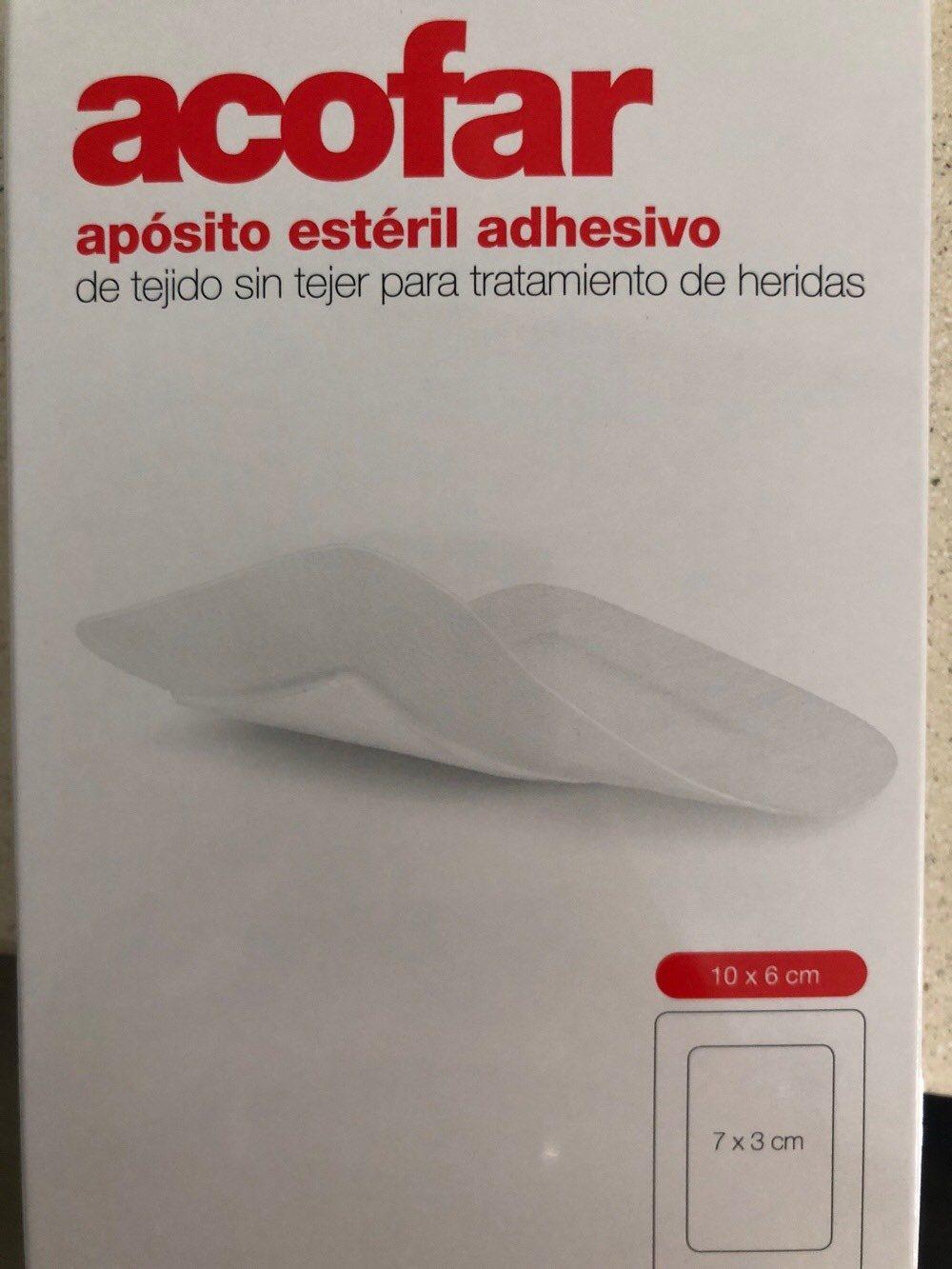 Aposito estéril 10x6cm - Produit - es
