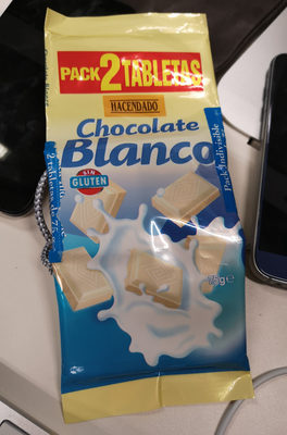 chocolate blanco - Product