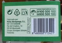 Esponja limpia vajillas - Product - en