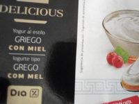 iogurte Grego com Mel - Product