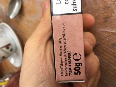 Tabac Chicha - Ingrédients - fr