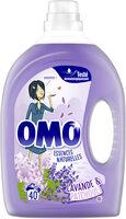 Omo Lessive Liquide Lavande & Patchouli 40 Lavages - 2l - Produit - fr