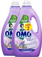Omo Lessive Liquide Lavande & Patchouli 2l 40 Lavages Lot de 2 - Product - fr