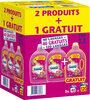 Omo Lessive Liquide Fleurs des Tropiques et Magnolia 2l 40 Lavages Lot de 3 - Produit