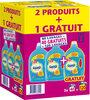 Omo Lessive Liquide Pêche & Pamplemousse x120 lavages- LOT 2+1 - Produit