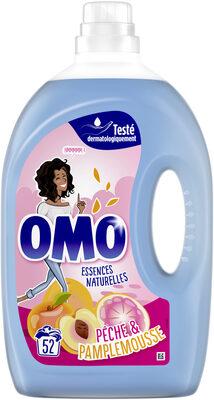 Omo Lessive Liquide Pêche & Pamplemousse 52 Lavages - Product - fr