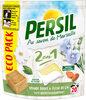 Persil Lessive Capsules 2en1 Peau Sensible Amande Douce Eco Pack 20 Dosettes - Product