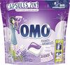 Omo Lessive Capsules 2en1 Lavande & Patchouli 30 Dosettes - Produit