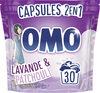 Omo Lessive Capsules 2en1 Lavande & Patchouli 30 Dosettes - Product
