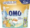 Omo 2en1 Lessive Capsules 2en1 Mandarine & Fleurs de Pommier 30 Dosettes - Produit