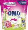 Omo Lessive Capsules 2en1 Rose & Lilas Blanc 24 Dosettes - Product