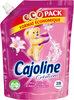 Cajoline Créations Adoucissant Concentré Fleur de Tiaré & Baies Sauvages Pack Eco - 700ml - 28 Lavages - Produit