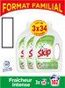 SKIP Lessive Liquide Fraîcheur Intense Lot 3x1,7l - 102 Lavages - Product