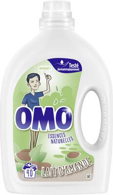 Omo Lessive Liquide Lait d'Amande 40 Lavages - 2L - Product - fr