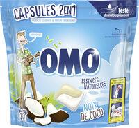 Omo Lessive Capsules 2en1 Noix de Coco 30 Dosettes - Product - fr