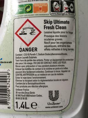 Skip Ultimate fresh clean - Product