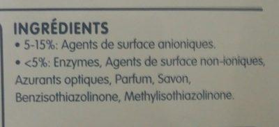 Amande douce & Fleur de lin - Ingrédients