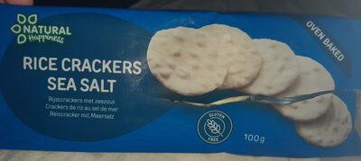 rice crackers sea salt - Product