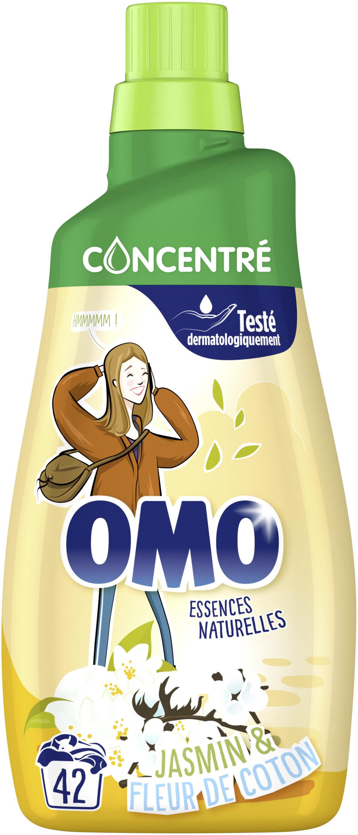 Omo Lessive Liquide Jasmin & Fleur de Coton 1,47l 42 Lavages - Product - fr