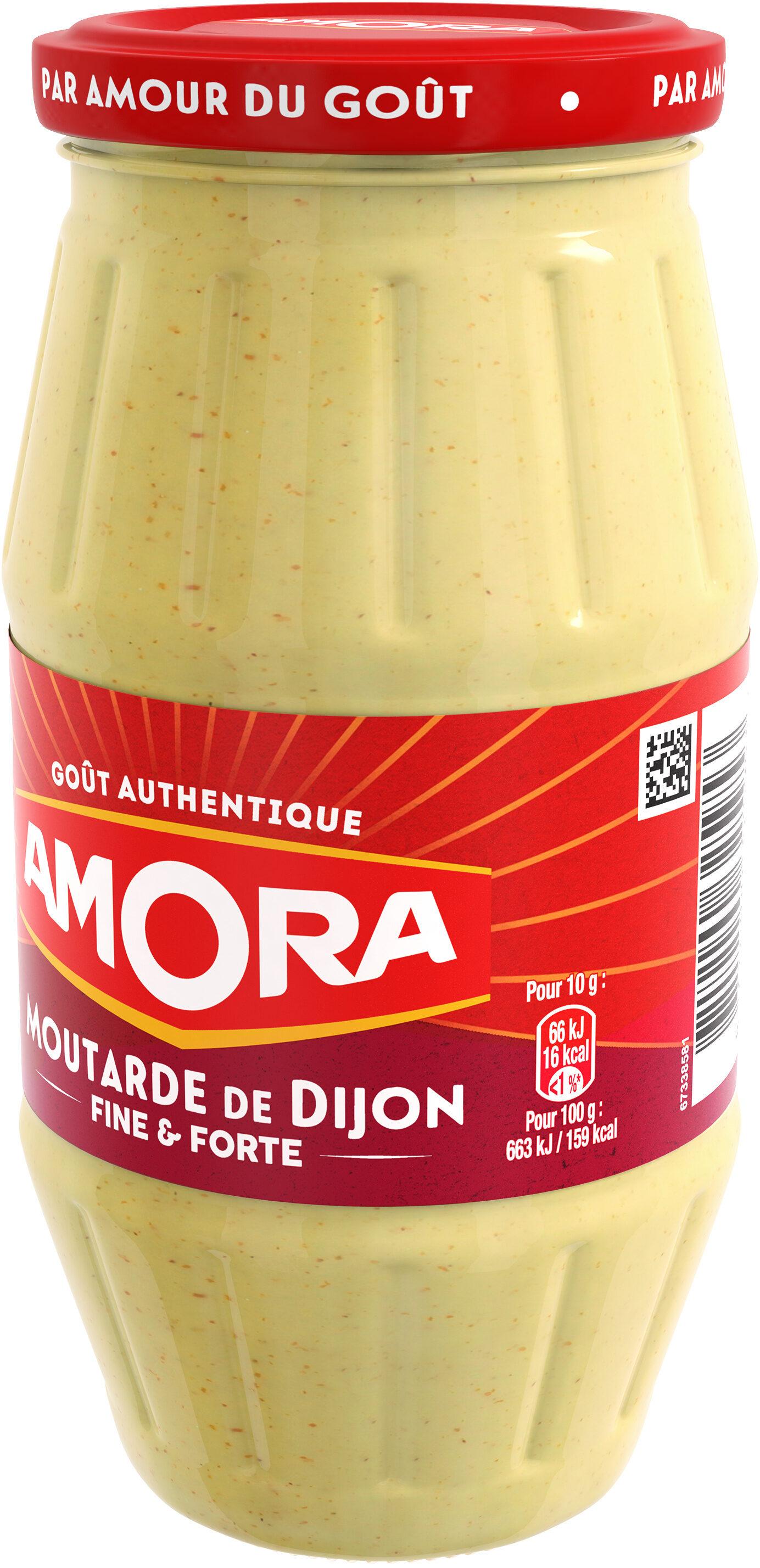 Amora Moutarde de Dijon Fine et Forte Bocal - Product - fr