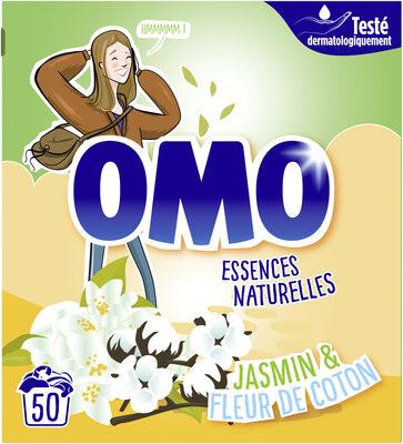 Omo Lessive Poudre Jasmin & Fleur de Coton 50 Doses - Product - fr