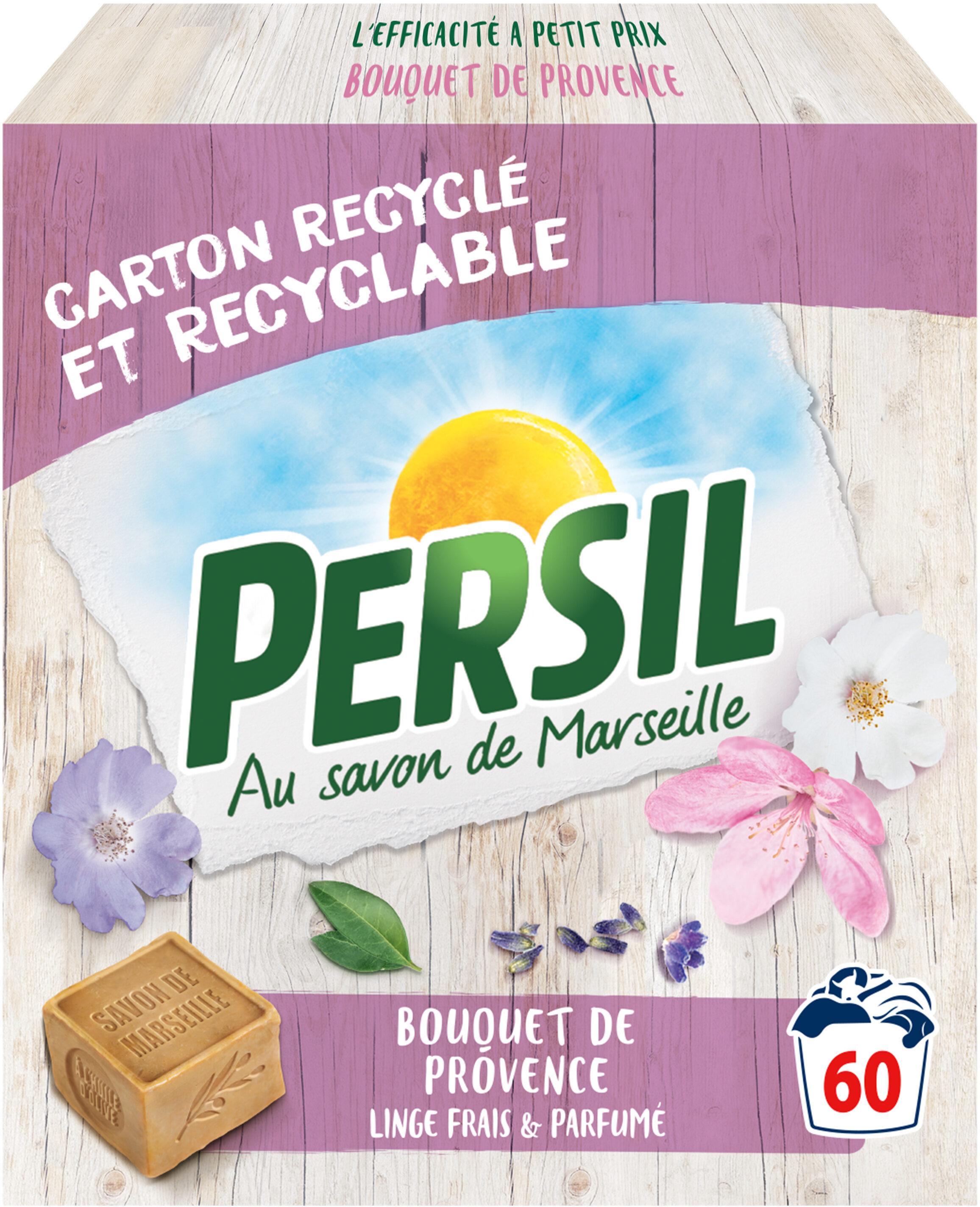 Persil Lessive Poudre Bouquet de Provence 60 Doses - Product - fr