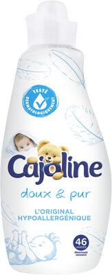 Cajoline Assouplissant Concentré Doux & Pur Hypoallergénique 1,16l 46 Lavages - Product - fr