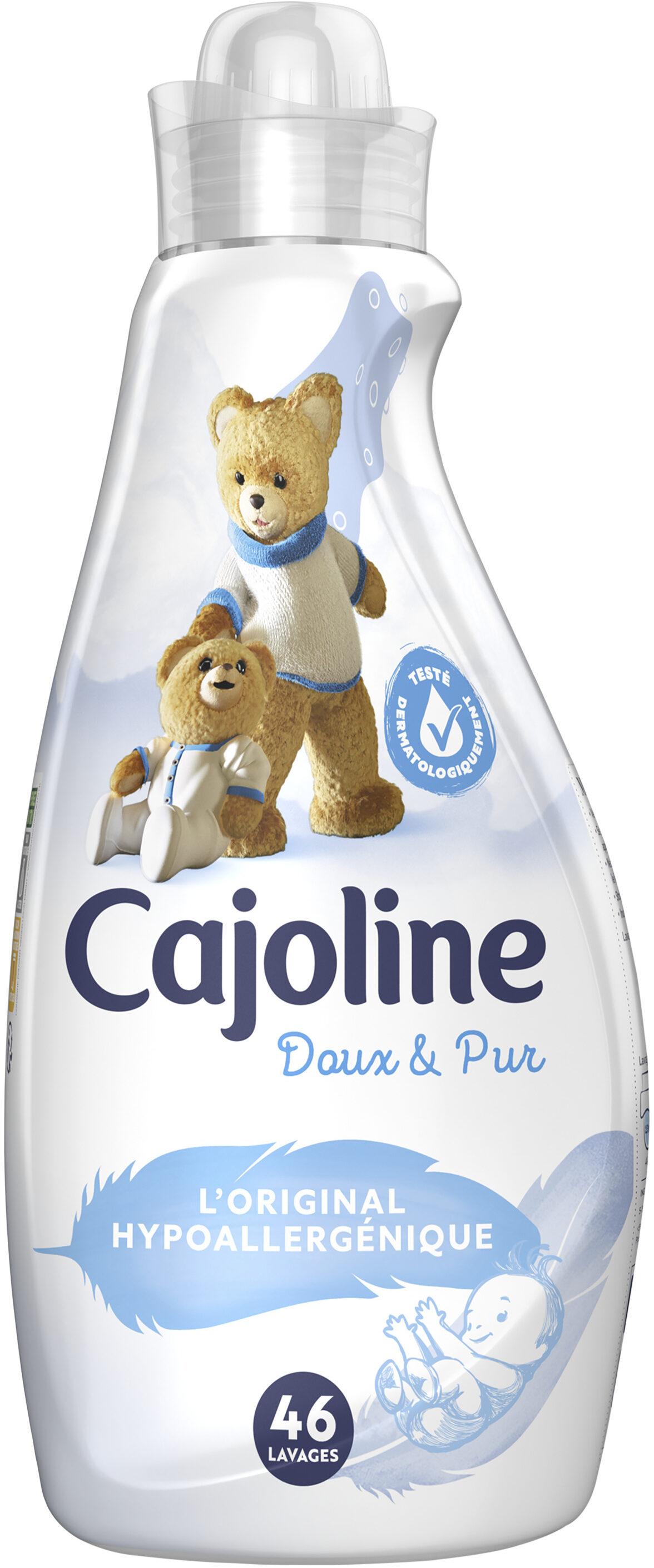 Cajoline Adoucissant Concentré Doux & Pur Hypoallergénique 1,16l 46 Lavages - Product - fr