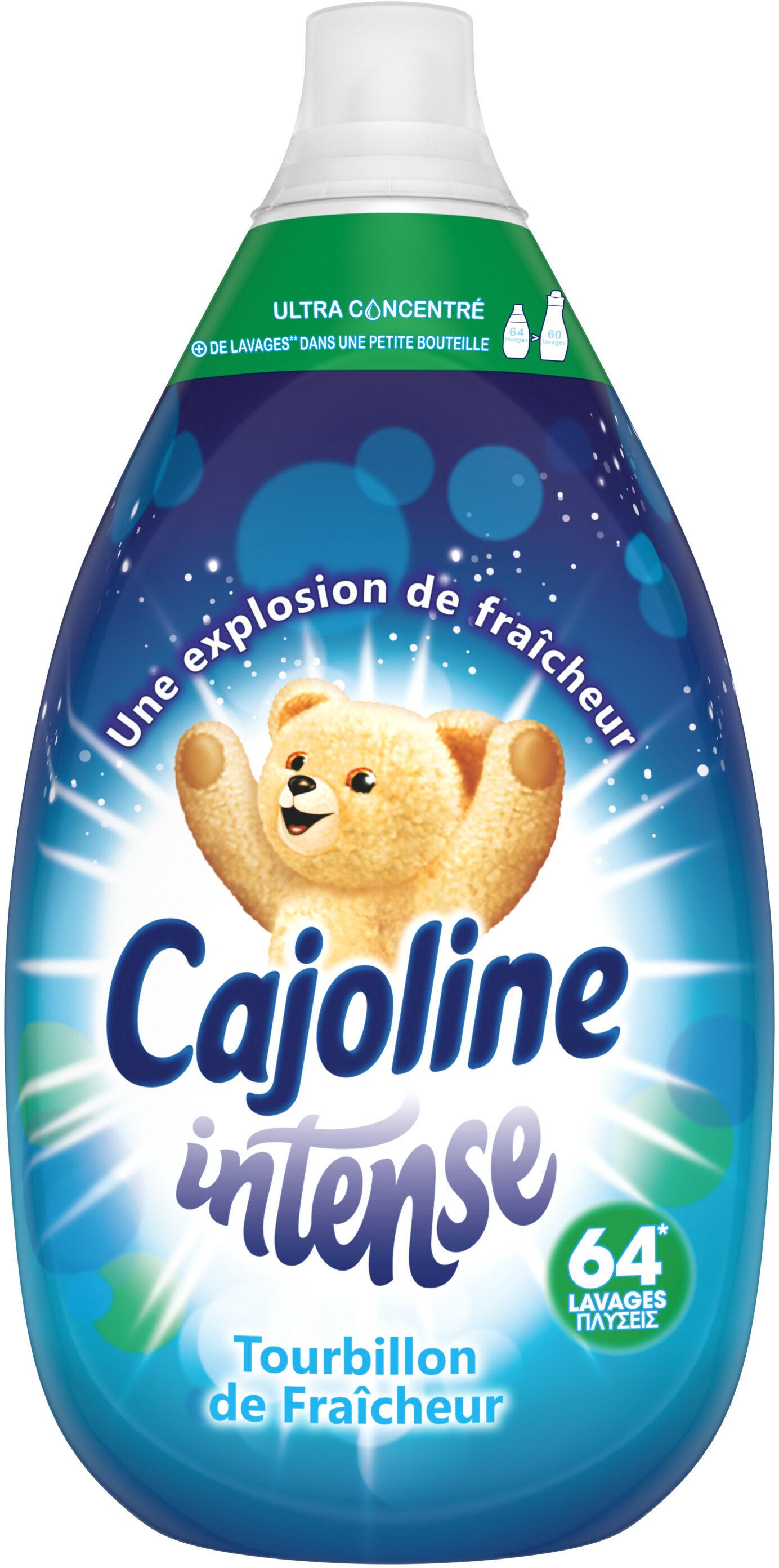 CAJOLINE Assouplissant Ultra-Concentré Tourbillon de Fraîcheur 960ml, 64 lavages - Product - fr