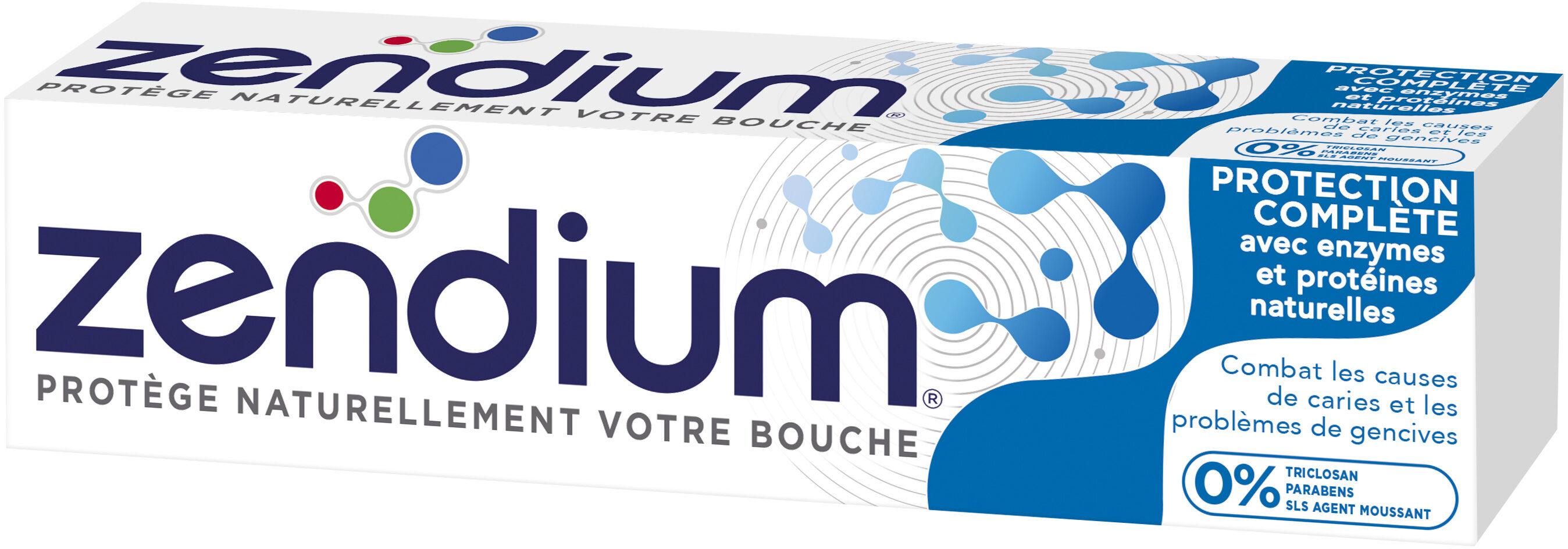 Zendium Dentifrice Protection Complète Mode d'action naturel antibactérien - Product - fr