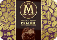 Magnum Glace Batonnet Chocolat Praline - Product - fr