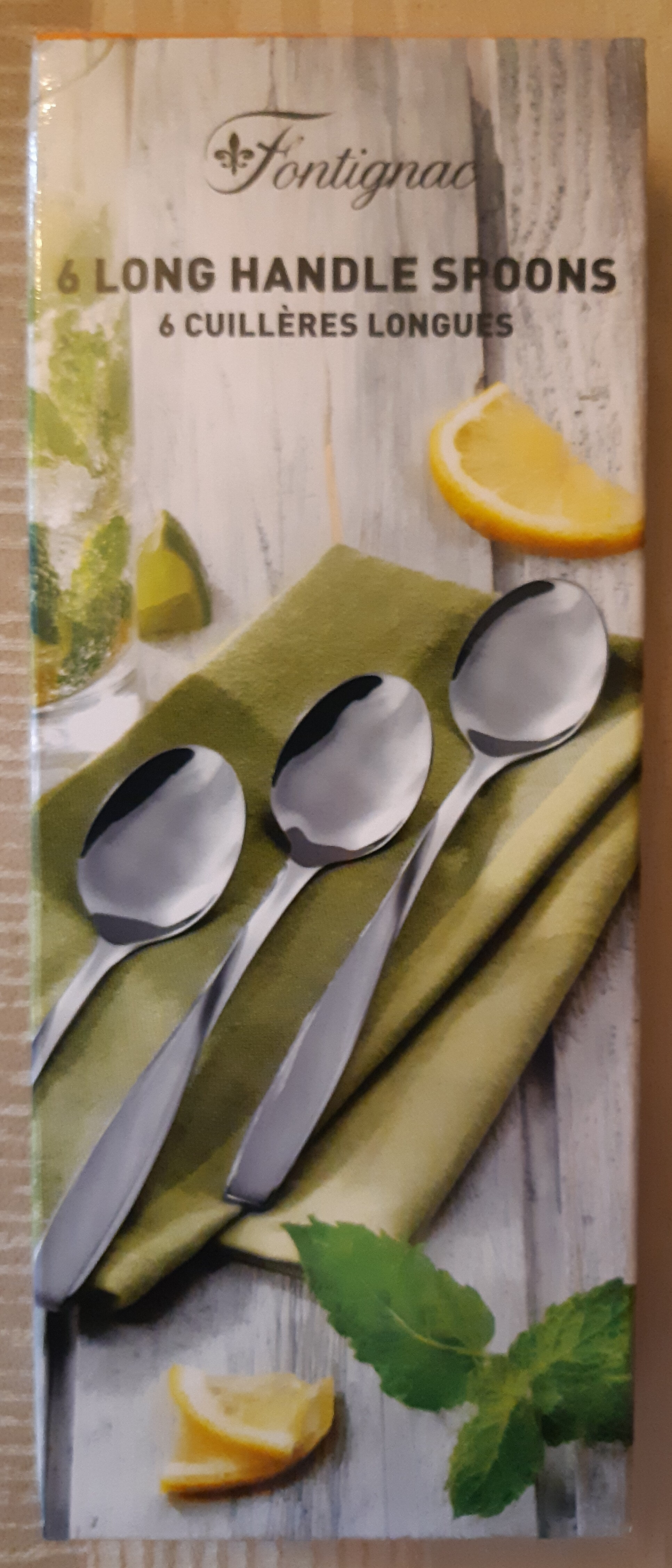 Petites cuillères longues - Product - fr