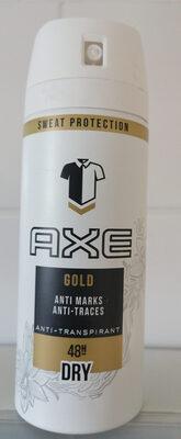Gold anti traces, anti-transpirant 48H - Product - en