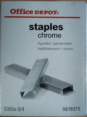 Agrafes galvanisées - Product